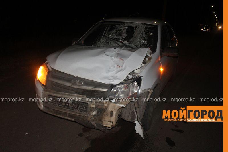 Таксист насмерть сбил мужчину в Уральске zhelaevo (2)