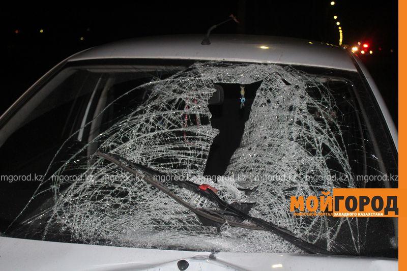 Таксист насмерть сбил мужчину в Уральске zhelaevo (3)