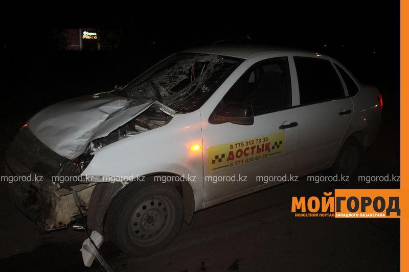 Таксист насмерть сбил мужчину в Уральске zhelaevo (4)