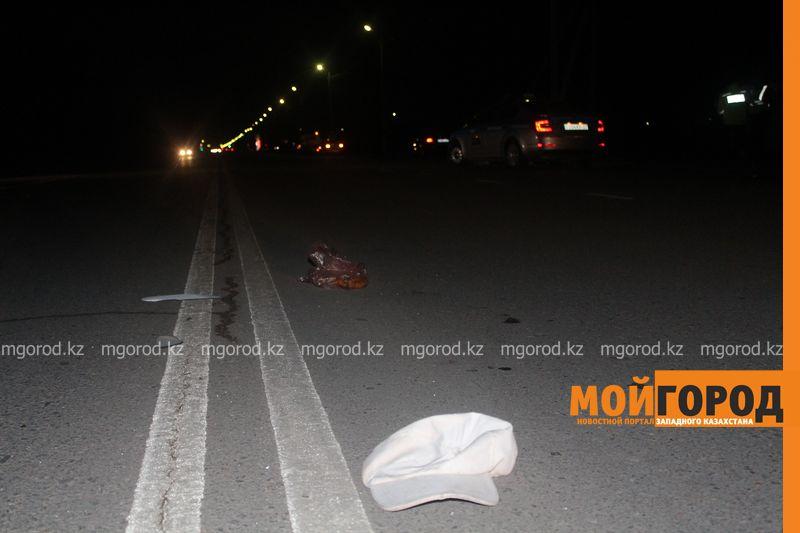 Таксист насмерть сбил мужчину в Уральске zhelaevo (6)