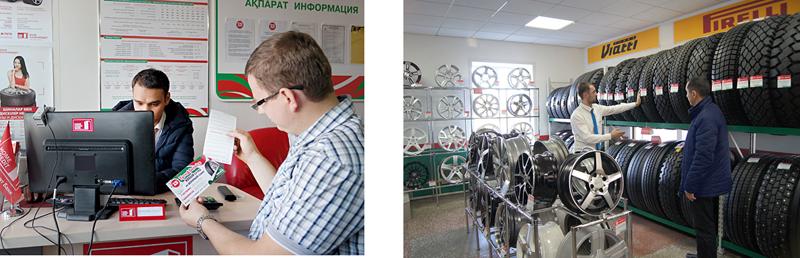 Шинный сервис в Уральске фото3
