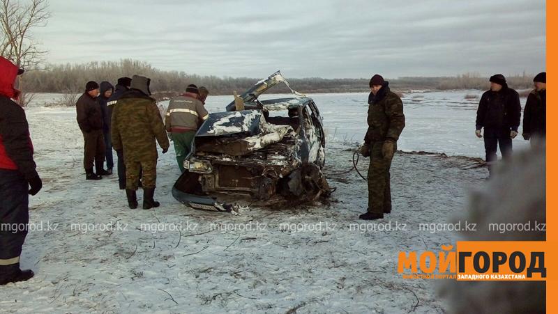 Новости - Тело мужчины обнаружили в утонувшей машине в ЗКО spasateli1