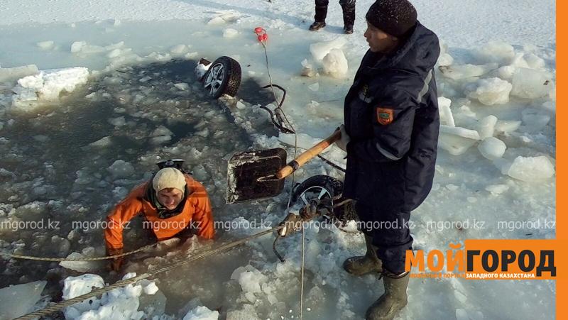 Новости - Тело мужчины обнаружили в утонувшей машине в ЗКО spasateli4