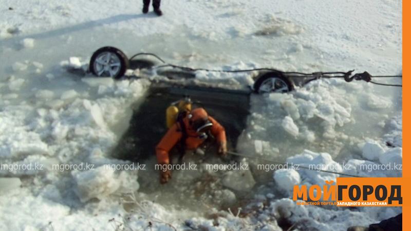 Новости - Тело мужчины обнаружили в утонувшей машине в ЗКО spasateli7