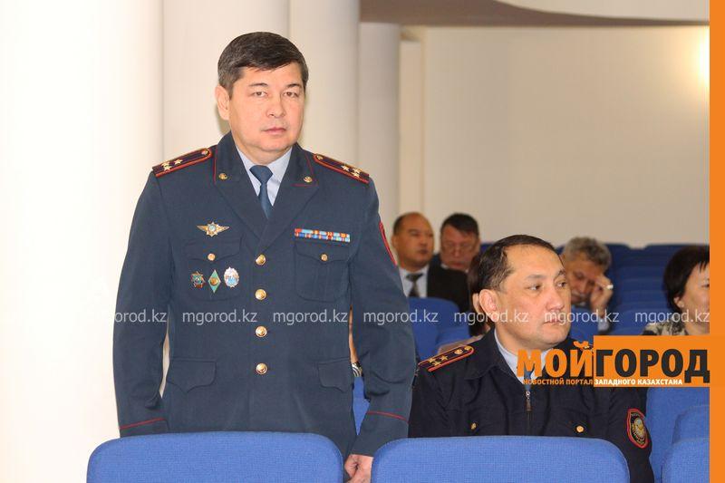 Новости Уральск - В ЗКО представили главу местной полиции Габдуллин (1)