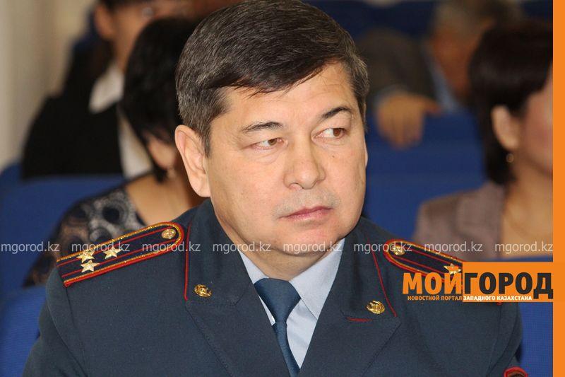Новости Уральск - В ЗКО представили главу местной полиции Габдуллин (2)