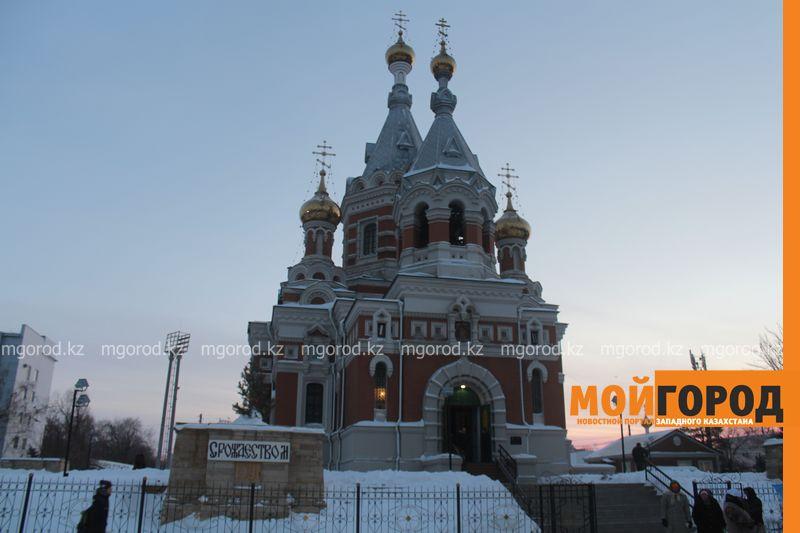 Православные христиане Уральска отмечают Рождество rozhdestvo (22)