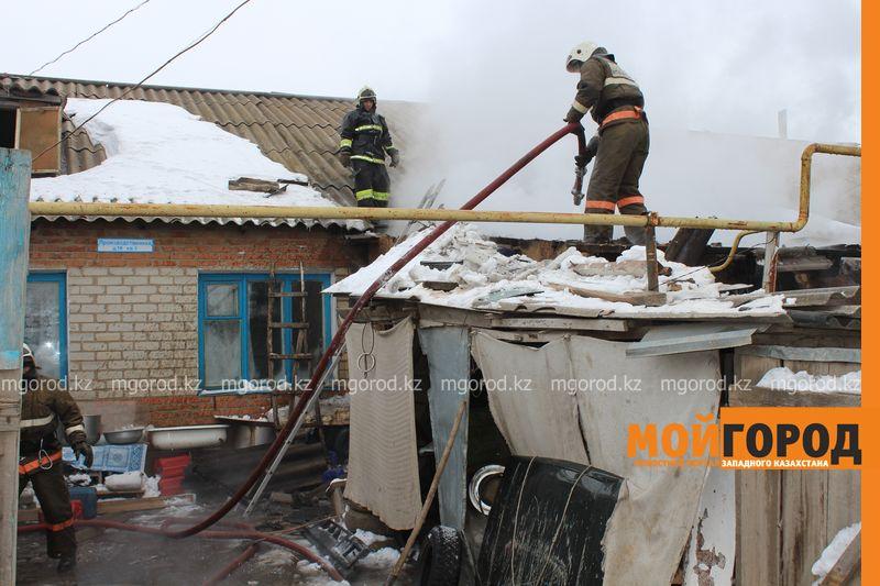 """14 человек погибли при пожарах в ЗКО в прошлом году Иллюстративное фото из архива """"МГ"""""""