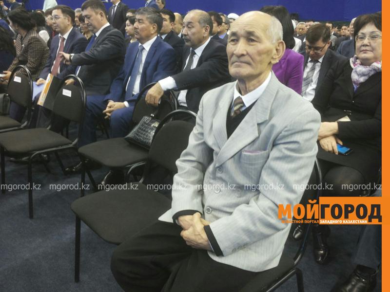 Новости - Бата дали акиму области на отчетной встрече ded