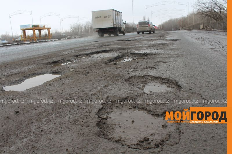 Новости Атырау - Какие дороги отремонтируют в Атырау в 2019 году
