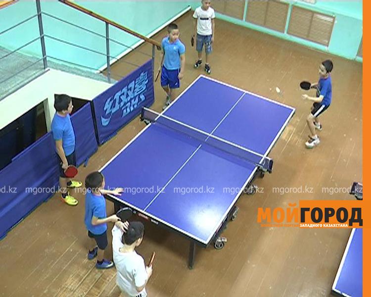 Более 100 детей участвуют в соревнованиях по настольному теннису в Уральске tennis4
