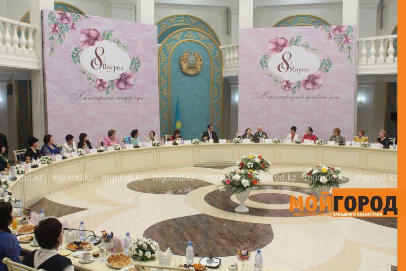 Новости Уральск - Аким ЗКО поздравил женщин с приближающимся праздником 8 marta (1)