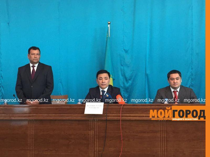 Акимов районов меняют в ЗКО Новый аким Бурлинского района Алдияр Халелов
