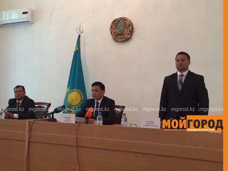 Акимов районов меняют в ЗКО Новый аким Чингирлауского района Альберт Досалиев