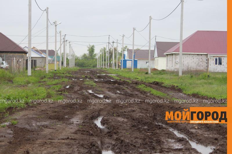 В Уральске поселке Деркул заасфальтируют дорогу pdp-2 (10)
