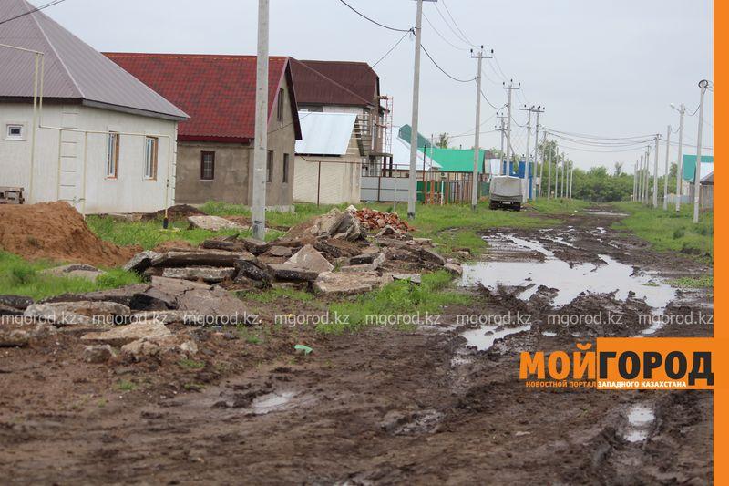 В Уральске поселке Деркул заасфальтируют дорогу pdp-2 (11)