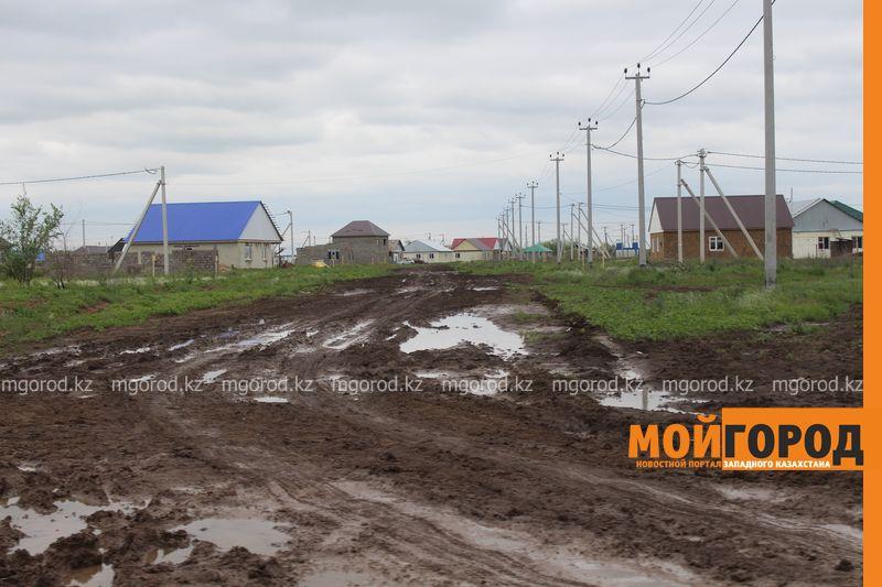 В Уральске поселке Деркул заасфальтируют дорогу pdp-2 (3)