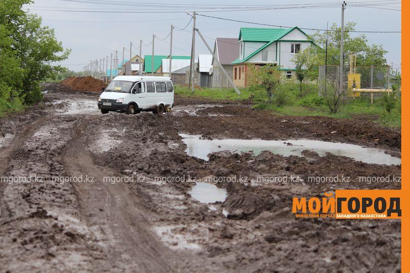 В Уральске поселке Деркул заасфальтируют дорогу pdp-2 (4)