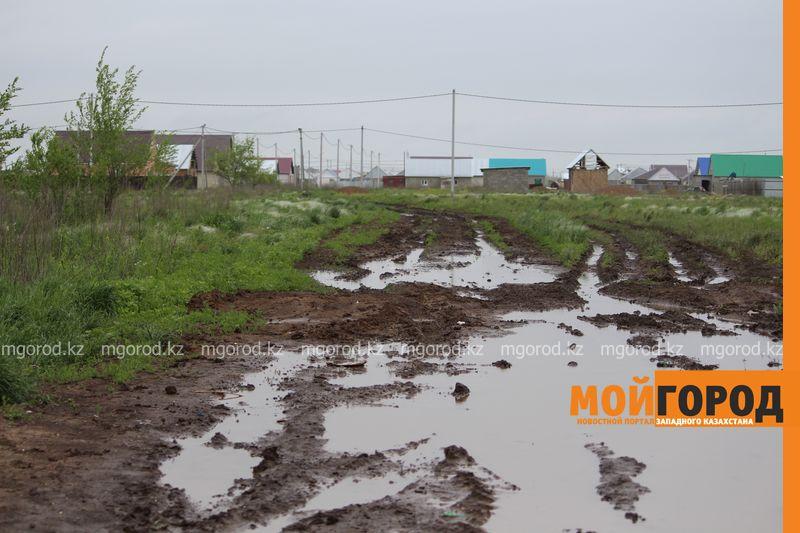 В Уральске поселке Деркул заасфальтируют дорогу pdp-2 (8)