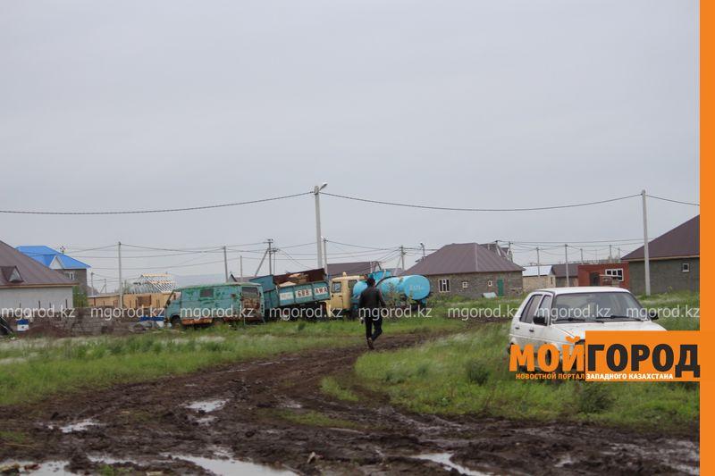 В Уральске поселке Деркул заасфальтируют дорогу pdp-2 (9)