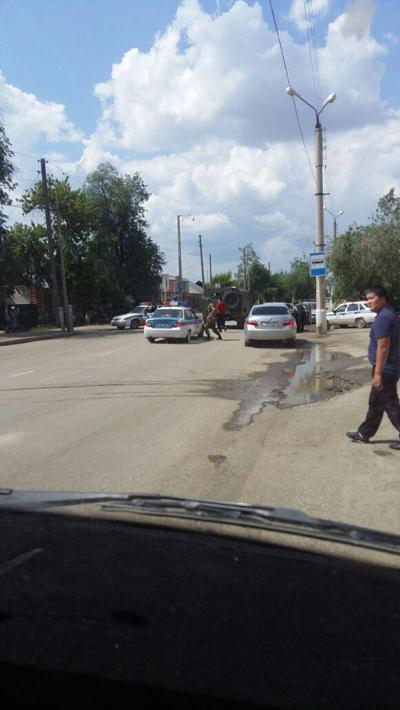 В трех районах Актобе произошла перестрелка (видео) 8888