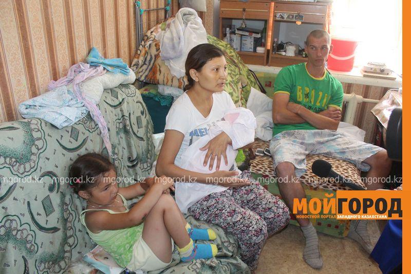 В Уральске семья с двумя детьми живет в крохотной комнате общежития IMG_3736 []