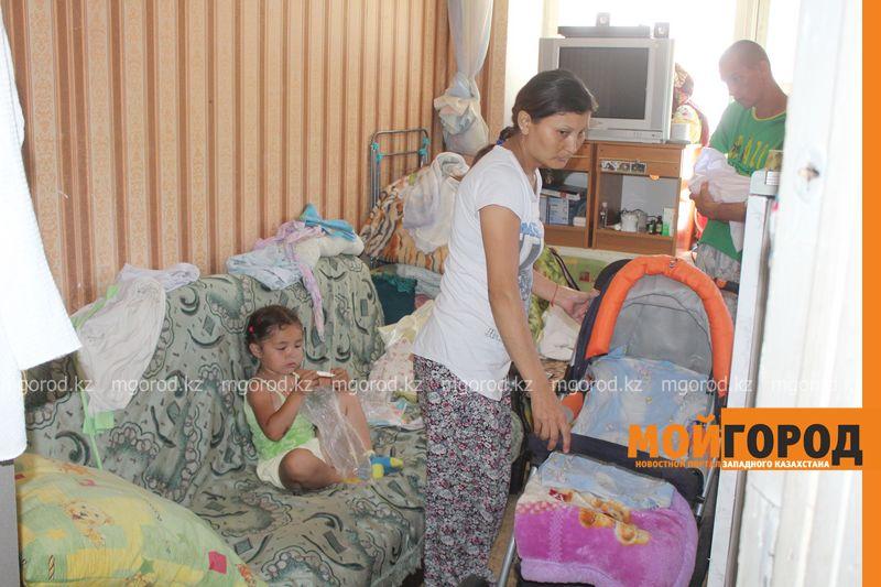 В Уральске семья с двумя детьми живет в крохотной комнате общежития IMG_3775 []