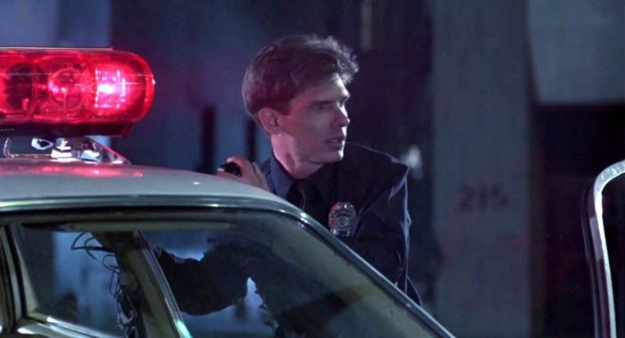 Сценарист Уильям Уишер сыграл в фильмах о Терминаторе несколько камео.