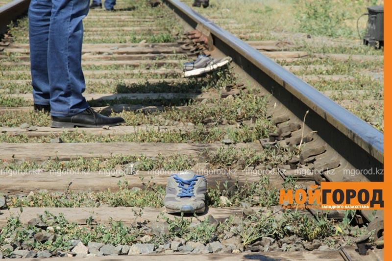 В Уральске поезд сбил человека poezd1