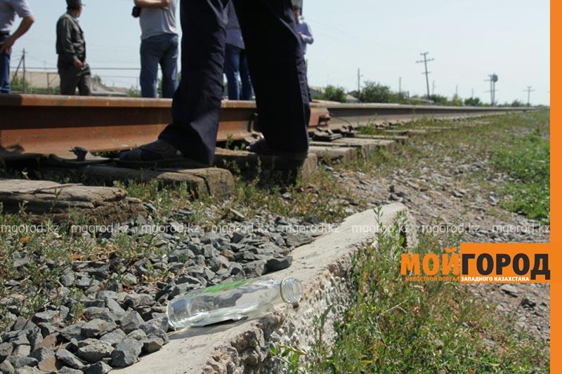 В Уральске поезд сбил человека poezd2