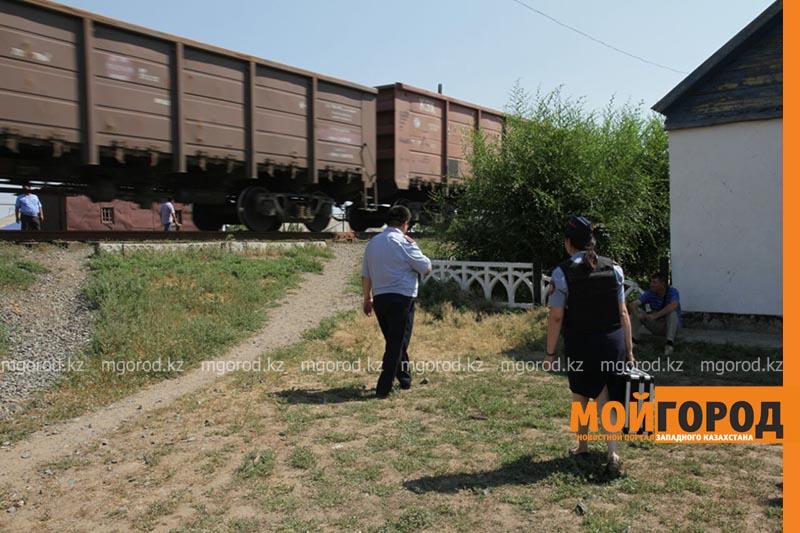 В Уральске поезд сбил человека poezd3