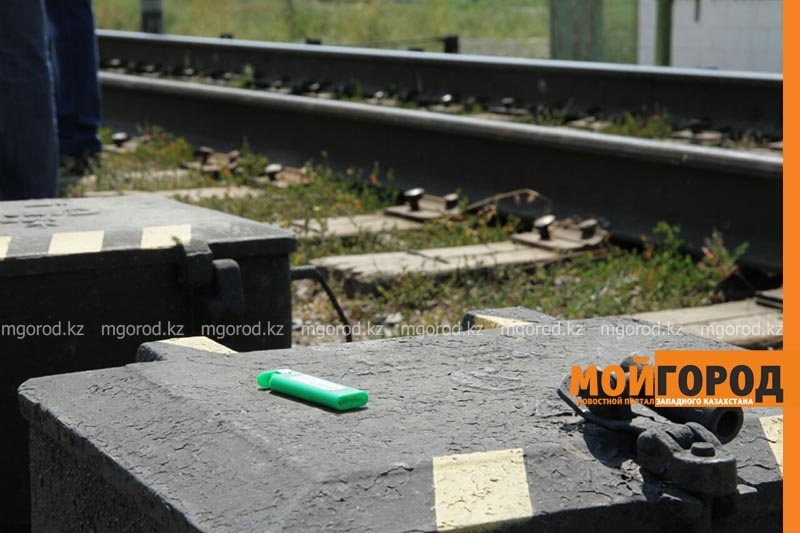 В Уральске поезд сбил человека poezd4