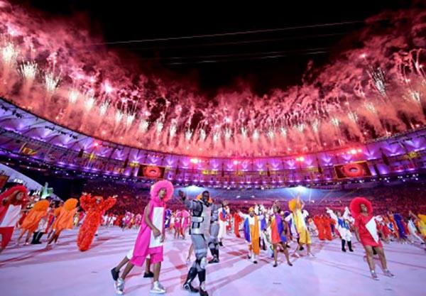 Новости - В Рио-де-Жанейро прошла церемония открытия летней Олимпиады Фото с сайта The Guardian