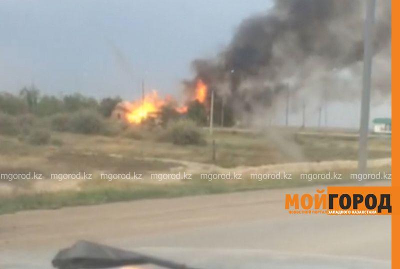 20 кубометров сжиженного газа взорвались на АГЗС в Аксае pozhar2