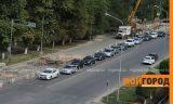 Из-за ремонта дорог в Уральске невозможно ездить