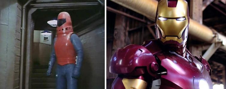 Железный человек в 1977 году и в 2008