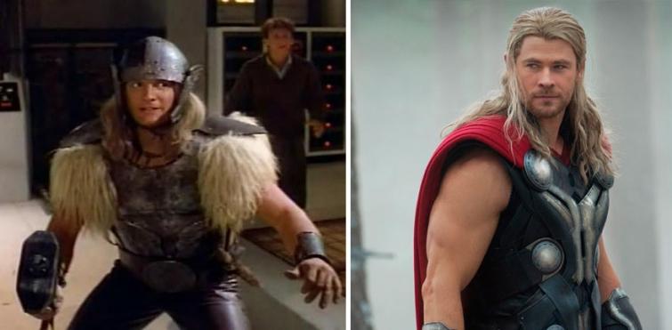 Тор в 1978 году и в 2015