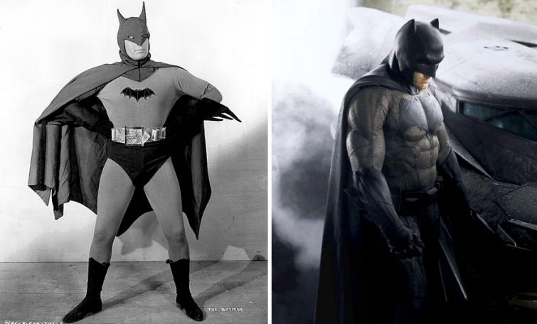 Бэтмен в 1943 году и в 2016