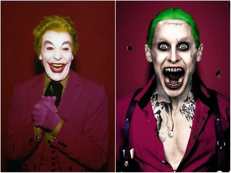 Джокер в 1966 году и в 2016