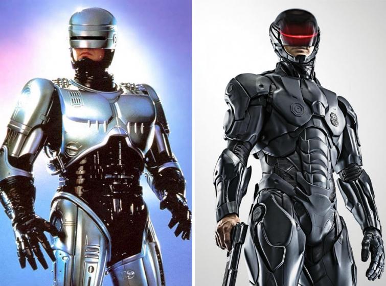 Робокоп в 1987 году и в 2014