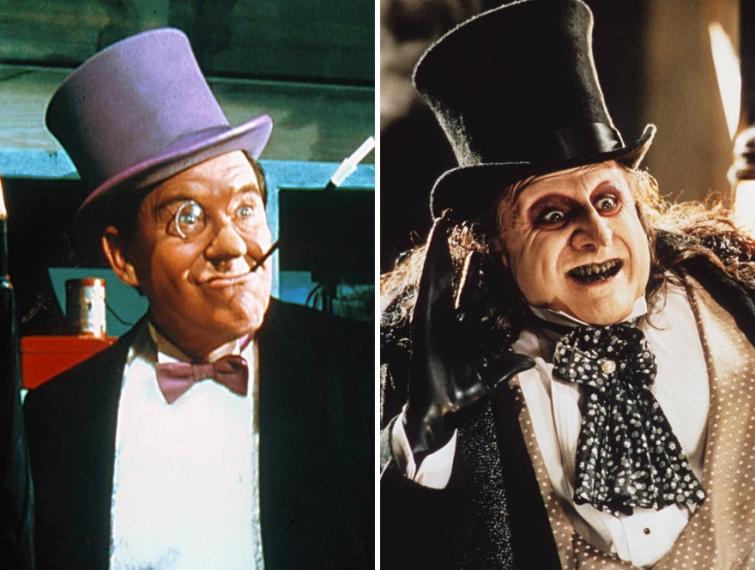 Пингвин в 1966 году и в 1992