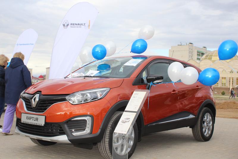 Новости - В Уральске под открытым небом прошла презентация кроссовера Renault Kaptur 5