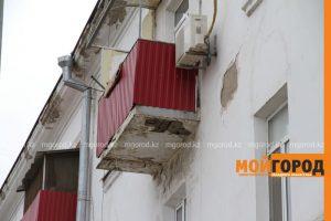 Новости уральск - разрушающиеся балконы уральцы должны ремон.