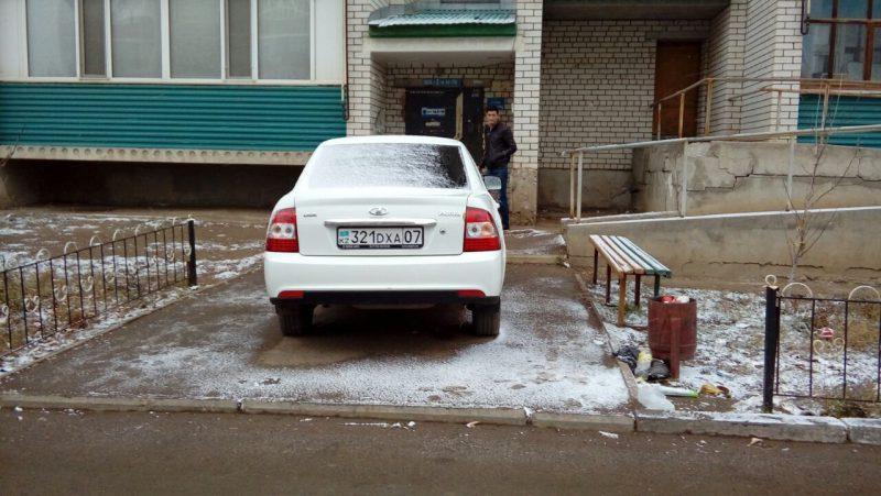 Новости - Наглая парковка c08a00ab-64fa-4bfc-b5cb-5094da66d8ee