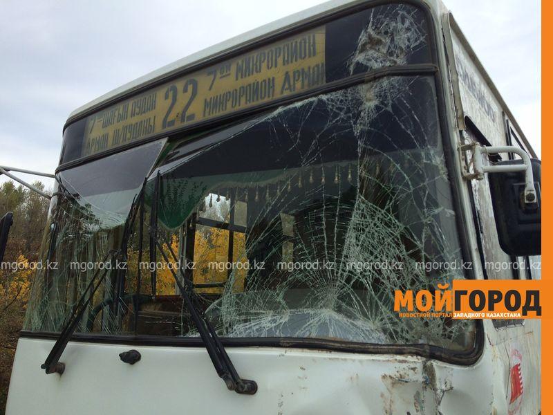 Новости Уральск - Пассажирский автобус врезался в трактор в Уральске, пострадали 6 человек (фото, видео) IMG_1215 []