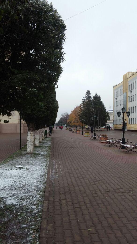 Новости - А в Уральске снег sneg