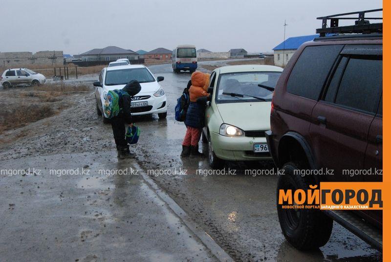 Новости Атырау - В Атырау из-за проливных дождей дети не могут добраться до школы DSC_8904 [800x600]