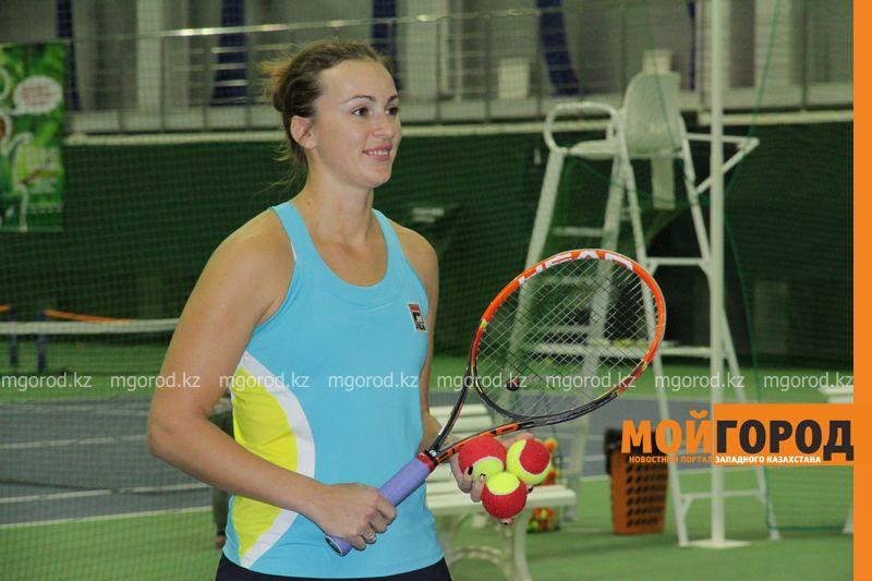 Новости Атырау - В Атырау приедет знаменитая теннисистка Ярослава Шведова