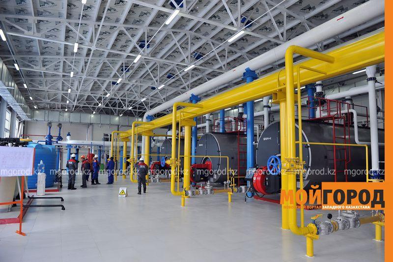Котельную стоимостью более миллиарда тенге запустили в Аксае kotelnaya