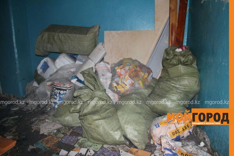 Пожар в Уральске: эвакуировано 120 человек, пострадал3-месячный ребенок pojar [800_600]